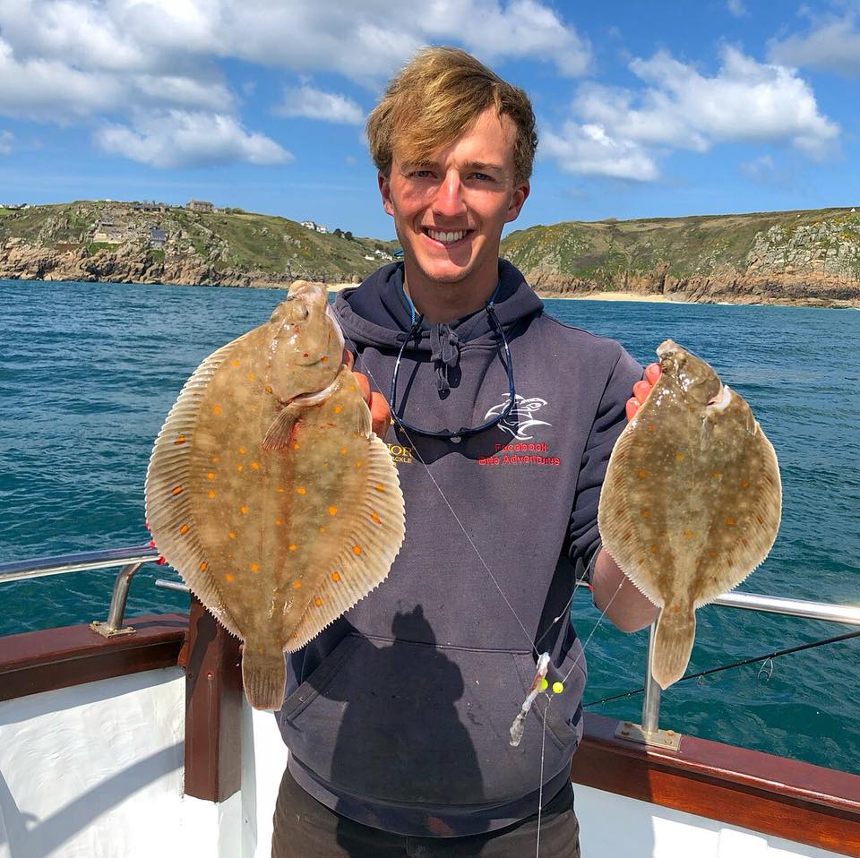Plaice Fishing Trips from penzance