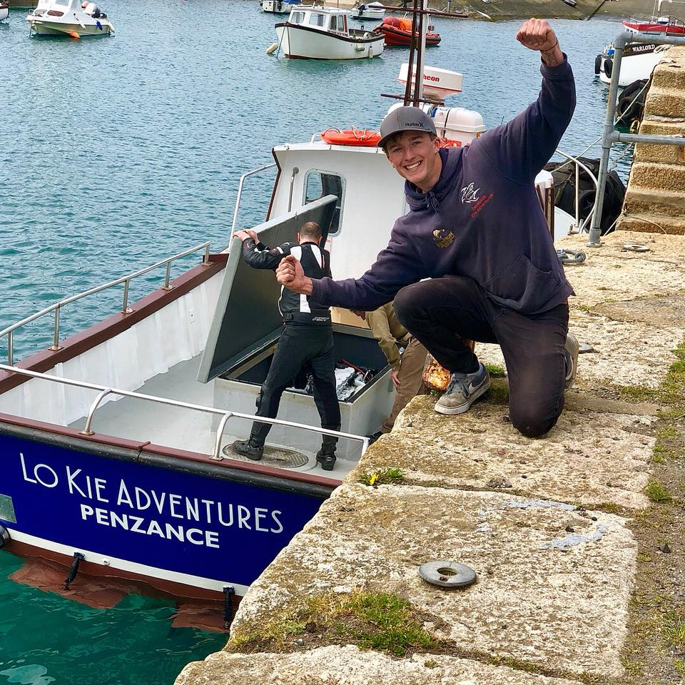 Lo Kie Adventures Launch in Penzance Harbour