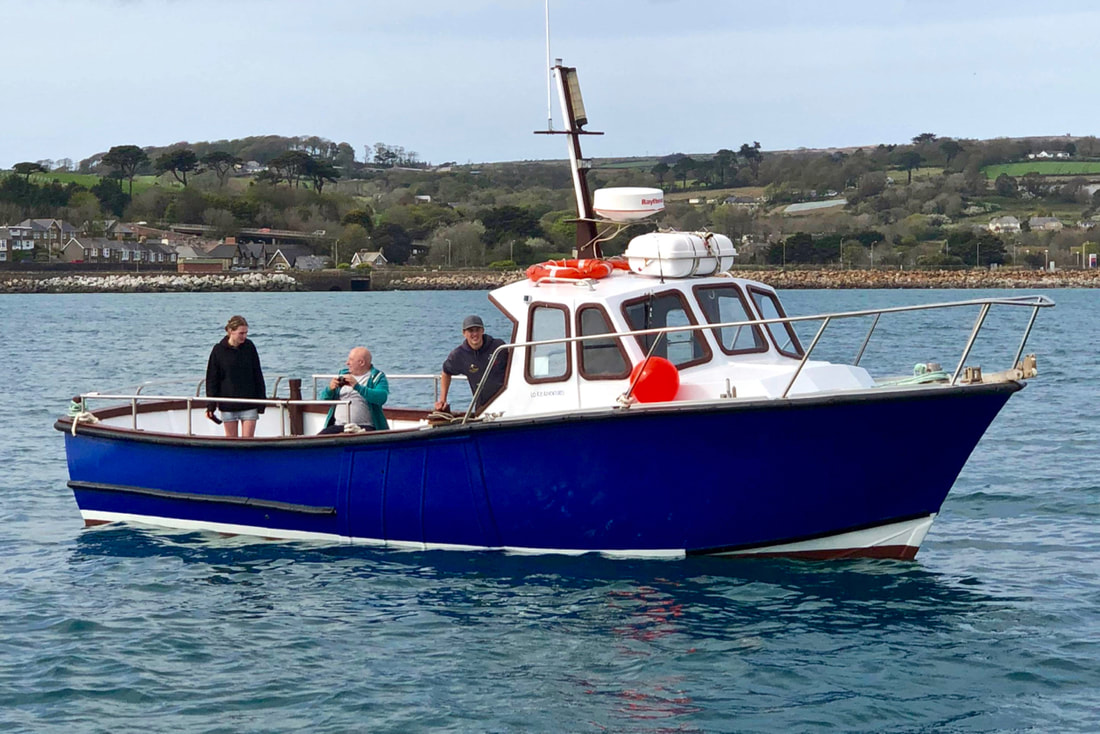 Lo Kie Adventures Charter Fishing Boat Penzance