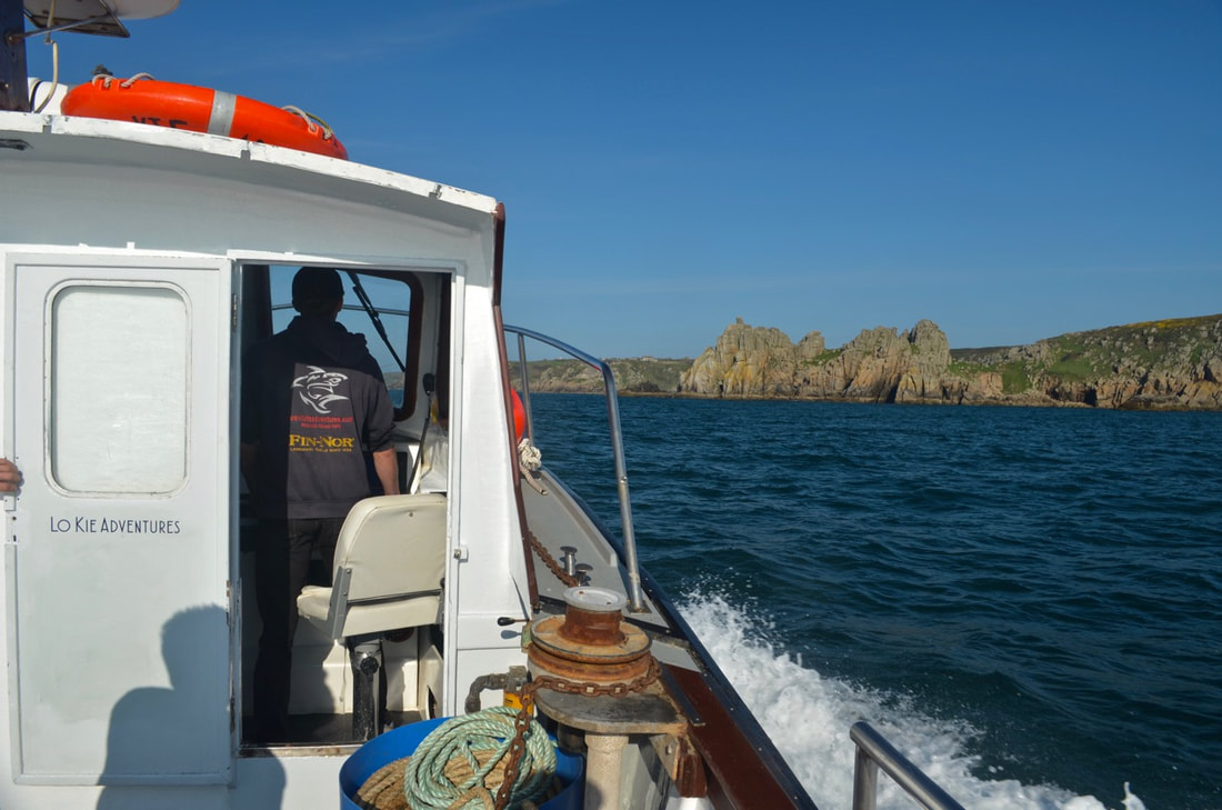 Lo Kie Adventures Fishing Trips heading out to the fishing grounds